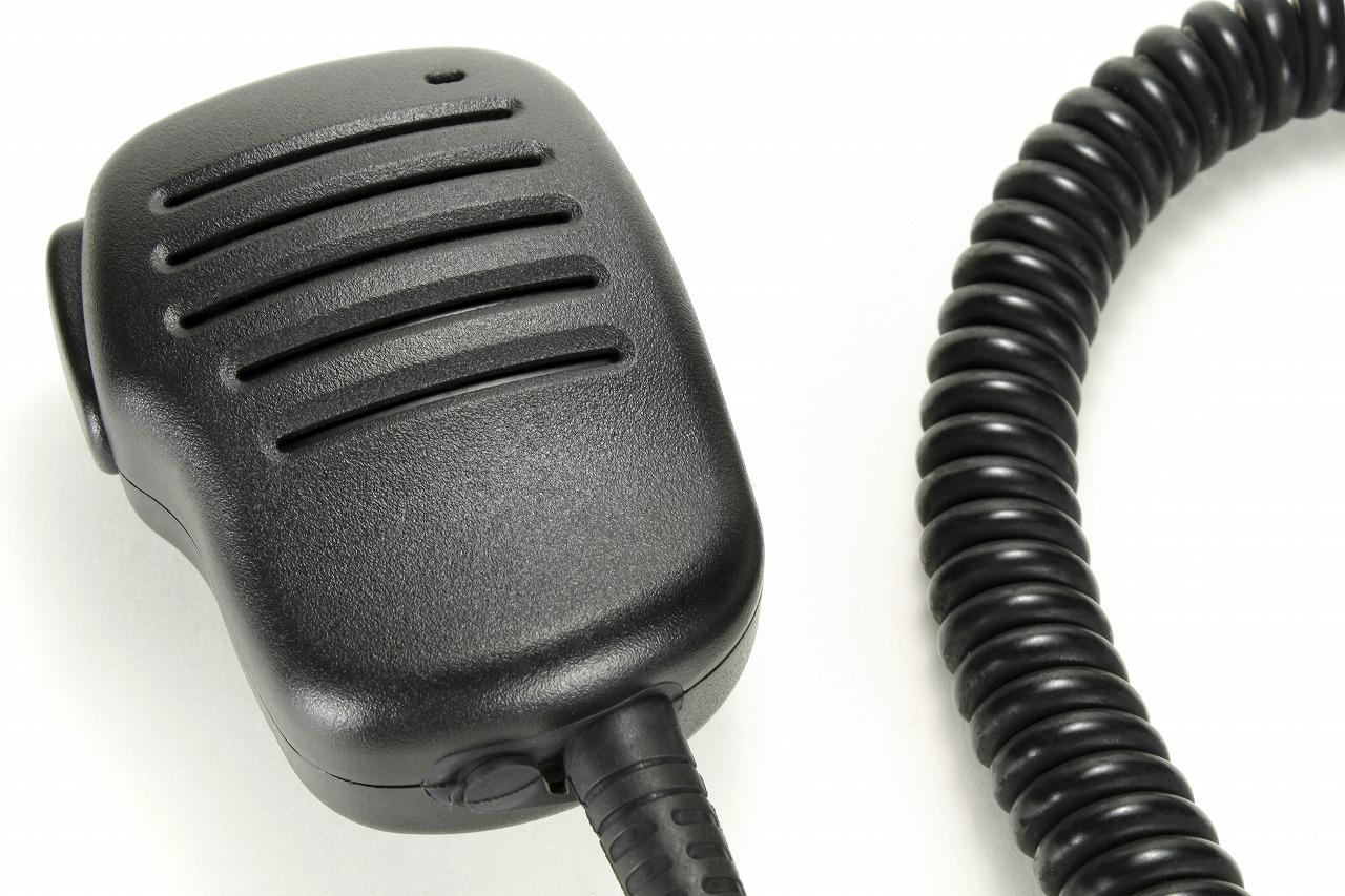 官公庁無線機用カールコード